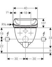 Geberit AquaClean 4000 fali WC-csészével 146.135.11.1