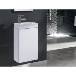 Arezzo Mini 40 egyajtós fehér alsószekrény mosdóval AR-163068