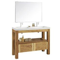 Wellis York Duo WB00243 szekrény mosdóval, tükörrel