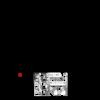 Kép 2/2 - TEKA Quick nyomógombos leeresztő szelep merész fekete 110620N2