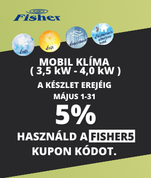 -5% mobil klíma kupon kedvezmény
