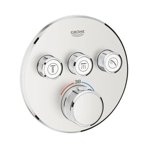 Grohe Grohtherm SmartControl termosztatikus zuhanycsaptelep, 3 szelep, 29121DC0