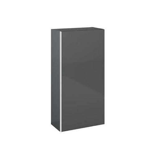 Monterey 40x21,6 cm felsőelem 1 ajtóval magasfényű antracit AR-166999