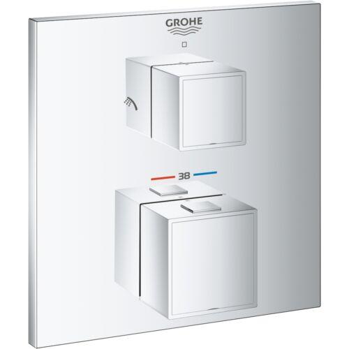 Grohe Eurocube termosztátos falba épített zuhanycsaptelep 24154000