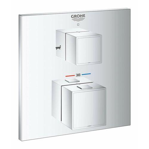 Grohe Grohtherm Cube termosztátos falba épített zuhanycsaptelep 24155000