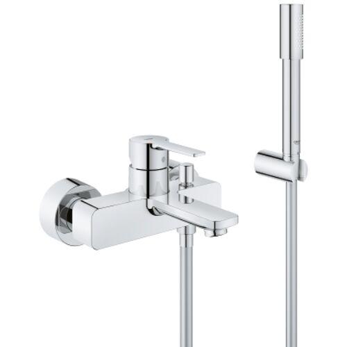 Grohe Lineare egykaros kádtöltő csaptelep zuhanyszettel, króm 33850001
