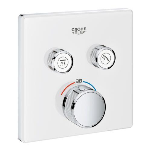 GROHE Grohtherm SmartControl termosztátos színkészlet, fehér üveg 29156LS0
