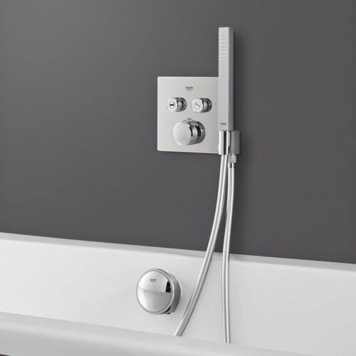 GROHE Grohtherm SmartControl termosztátos színkészlet beépített zuhanytartóval 29125000