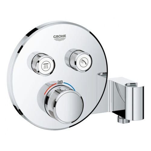 GROHE Grohtherm SmartControl termosztátos színkészlet beépített zuhanytartóval 29120000