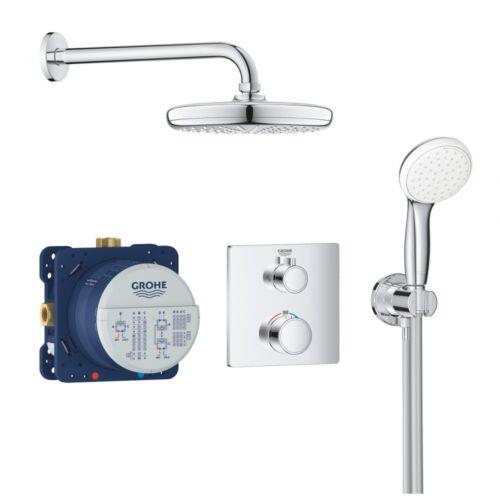 Grohe Grohtherm Smartcontrol Tempesta 210 falsík alatti termosztátos zuhanyszett 34729000