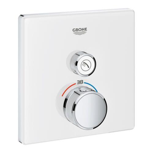 GROHE Grohtherm SmartControl termosztátos színkészlet, fehér üveg 29153LS0