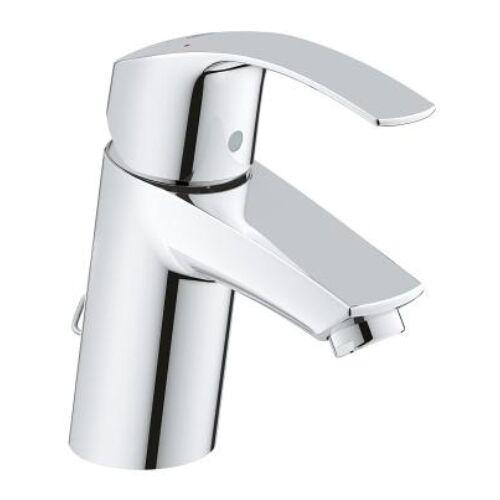Grohe Eurosmart egykaros mosdócsaptelep behúzható lánc, S méret 33188002