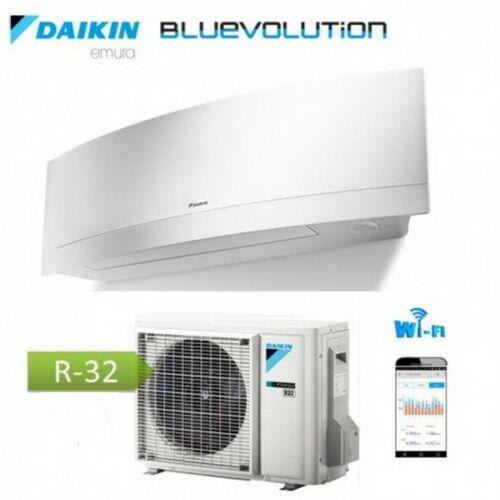 Daikin Bluevolution Emura FTXJ25MW / RXJ25N oldalfali inverteres klíma