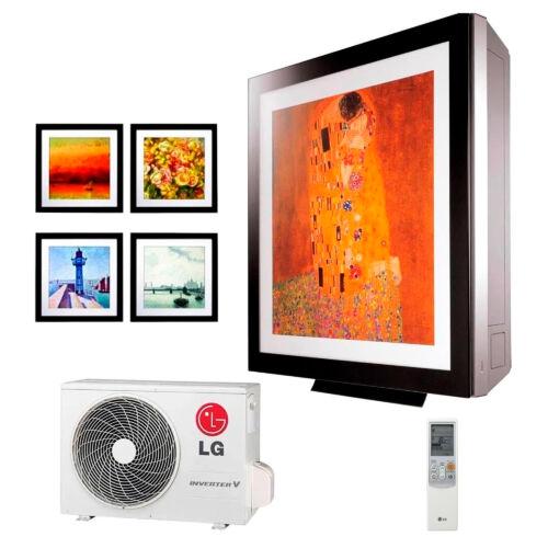 LG Art Cool Gallery A12FT Inverteres Oldalfali Split klíma csomag 3,5 kW