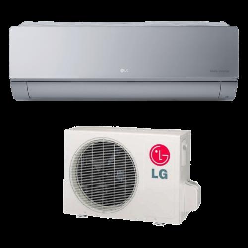 LG Artcool Silver AC12SQ oldalfali inverteres klíma