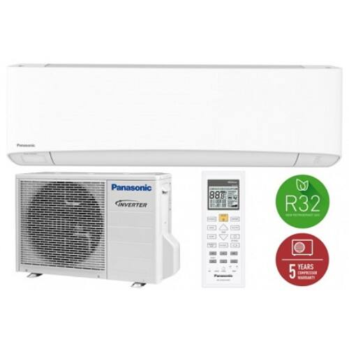 Panasonic KIT-Z20-TKE Etherea Inverter Plus Oldalfali MonoSplit Klíma 2,0kW