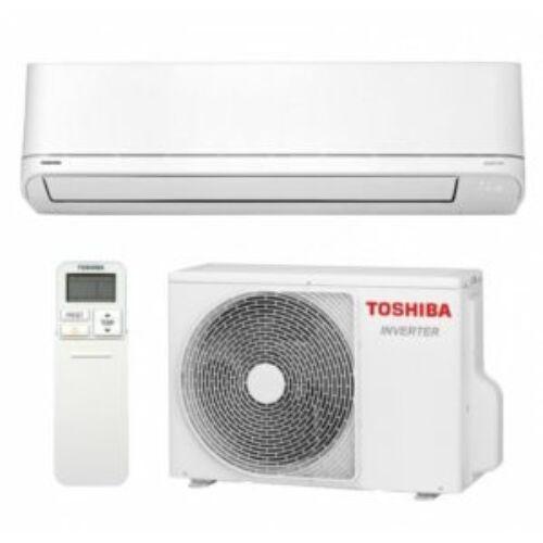 Toshiba Suzumi Plus RAS-B10PKVSG-E / RAS-10PAVSG-E Oldalfali Inverteres Split Klíma 2,5 kW