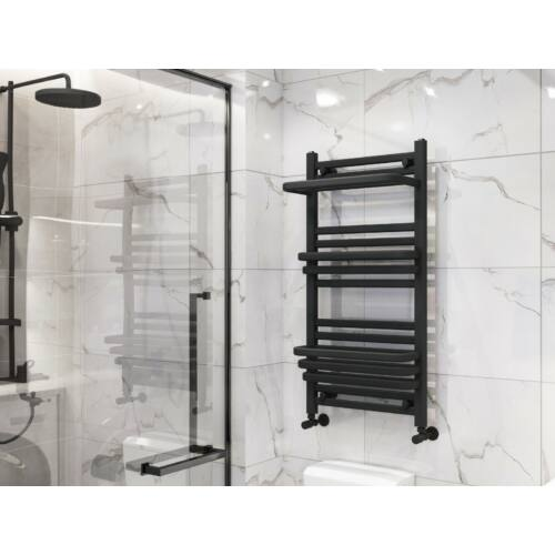 AREZZO design Step Black 1000x500 törölközőszárítós radiátor, fekete AR-SP10050B
