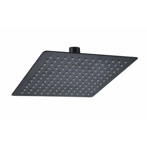 AREZZO design Slim Square fekete 30x30 szögletes esőztető AR-3001MB