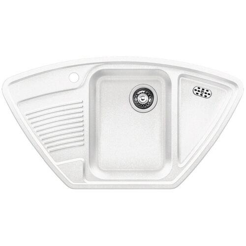 BLANCO CLASSIC 9 E Silgranit mosogató, fehér 521340