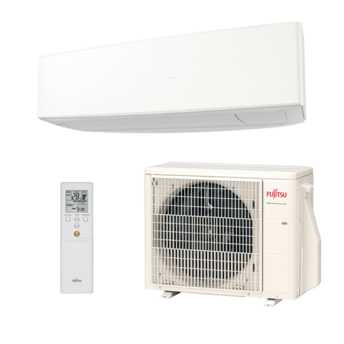 Fujitsu Design 2020 ASYG12KETA / AOYG12KETA Oldalfali split klíma WHITE 3,4 kW