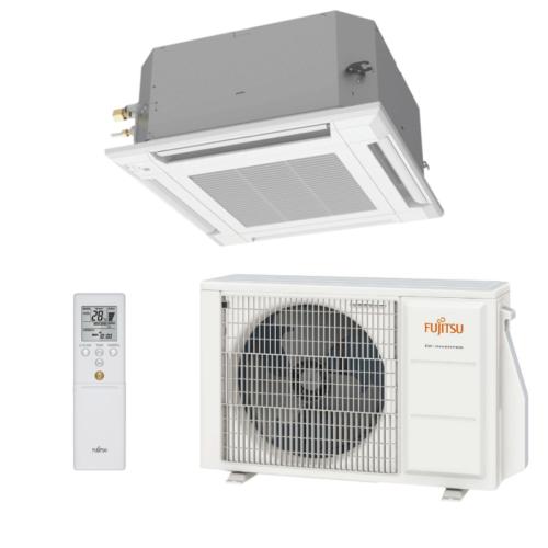 Fujitsu Eco AUXG09KVLA / AOYG09KATA kazettás split klíma csomag 2,5 kW