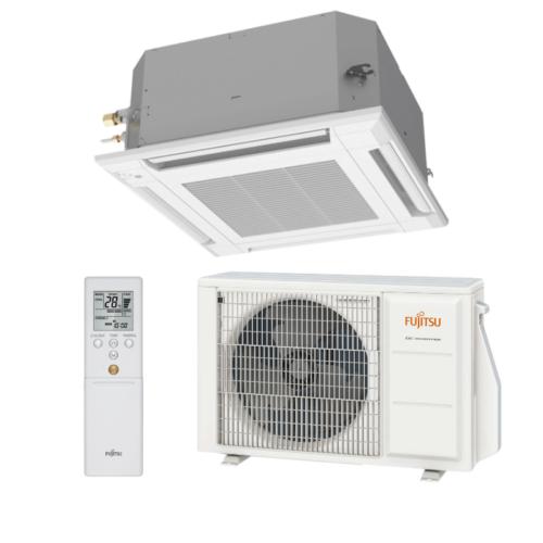Fujitsu Standard AUXG24KVLA / AOYG24KBTB kazettás split klíma csomag 6,8 kW