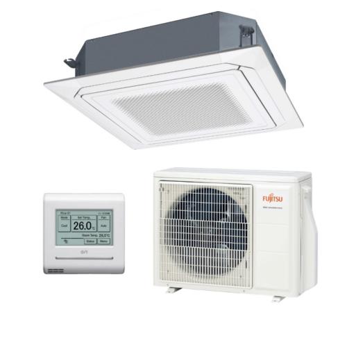 Fujitsu Standard AUXG18KRLB / AOYG18KBTB kazettás split klíma csomag 5,2 kW