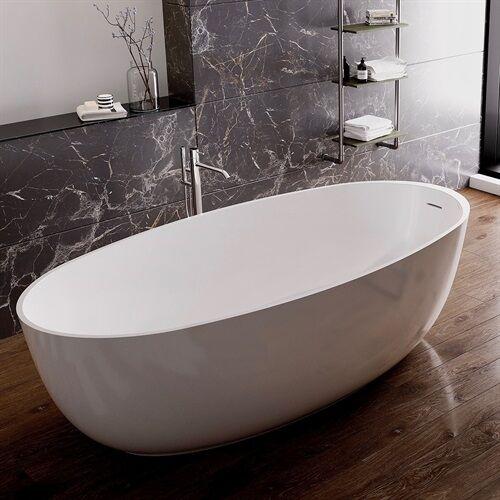 Marmy MONACO 170x80 öntött márvány szabadonálló fürdőkád 40 0763 17 08 10