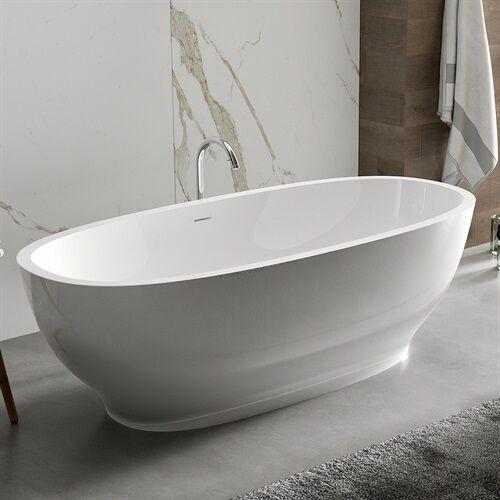 Marmy IMPERIA 175x80 öntött márvány szabadonálló fürdőkád 40 1080 18 08 10