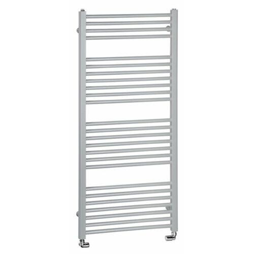 Sapho AQUALINE Fürdőszobai radiátor, egyenes, 600x1320mm, 714W, strukturált ezüst (ILS36E)