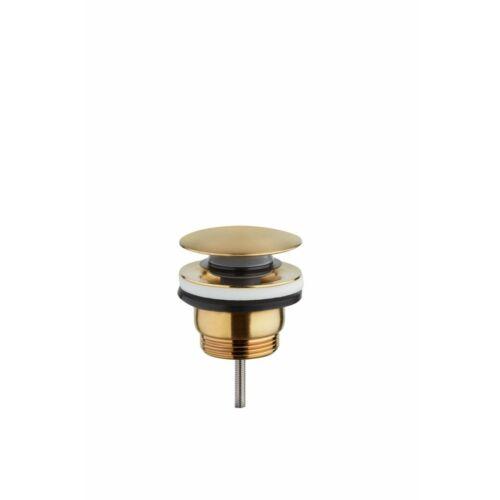 TEKA Quick nyomógombos leeresztő szelep bársony arany 110620G2