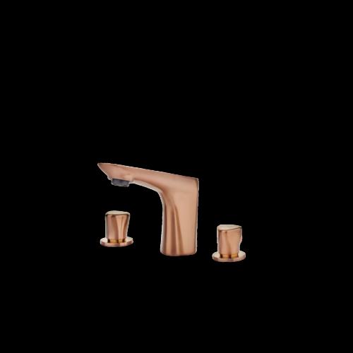 TEKA Itaca alsó bekötésű mosdó csaptelep szelíd rózsaarany 67431020G3