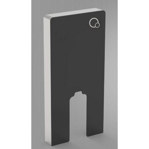 Wellis Corsica Black falsík előtti WC tartály álló wc-hez, fekete WF00074