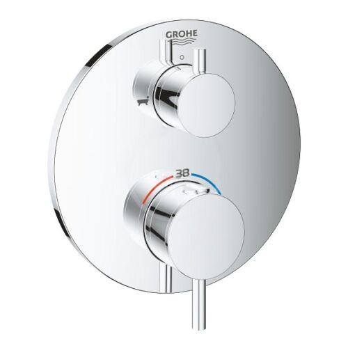 Grohe Atrio - rejtett termosztatikus keverő 2 készülékhez, króm 24138003