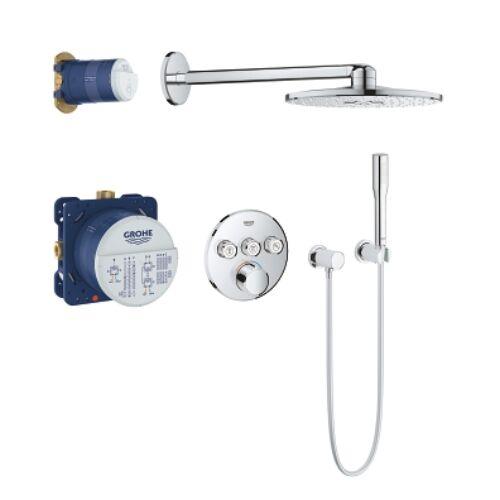 Grohe SmartControl Perfect falsík alatti zuhanyszett 34709000